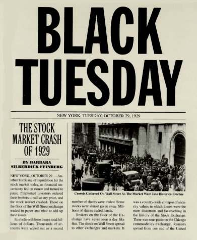 Black Tuesday 1929