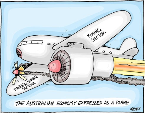 Two speed Australian Economy